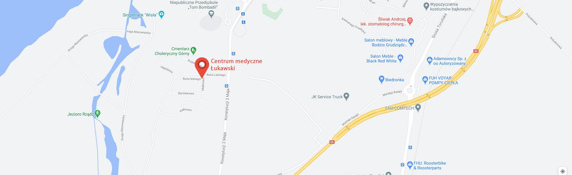 Centrum medyczne łukawski dojazd